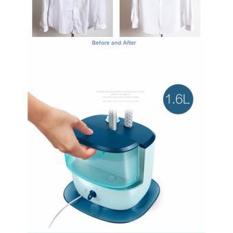 Bàn ủi hơi nước đứng Philips GC516 (Xanh) - Hàng nhập khẩu