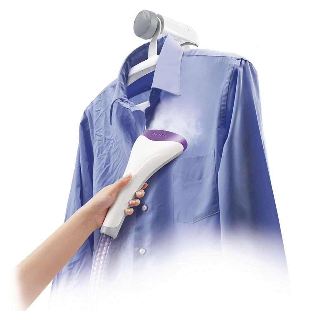 Bàn ủi hơi nước đứng Philips GC536 (Tím) TẶNG Bàn ủi hơi nướcPhilips GC1020 (Xanh lá)