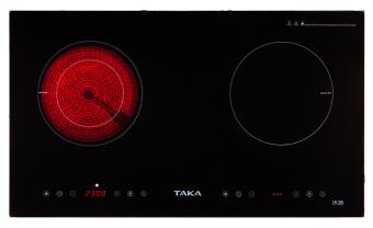 Bếp điện từ đôi cao cấp chống sốc nhiệt và truyền nhiệt tốt TakaIR2B