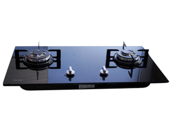 Bếp ga âm Rinnai 2 lò RVB-212BG (Đen)