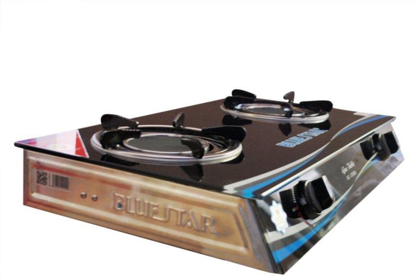 Bếp gas 2 lò hồng ngoại BlueStar NG-5790BC (Đen)