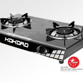 Bếp gas hồng ngoại Kokoro KR HNL 2 (Đen)