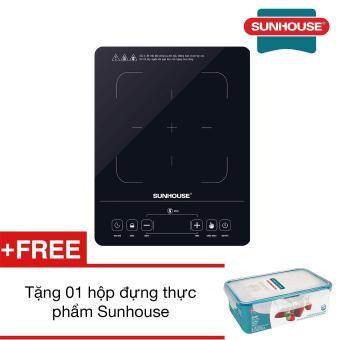 Bếp hồng ngoại cảm ứng SUNHOUSE SHD6014 + Tặng 01 hộp đựng thực phẩm Sunhouse