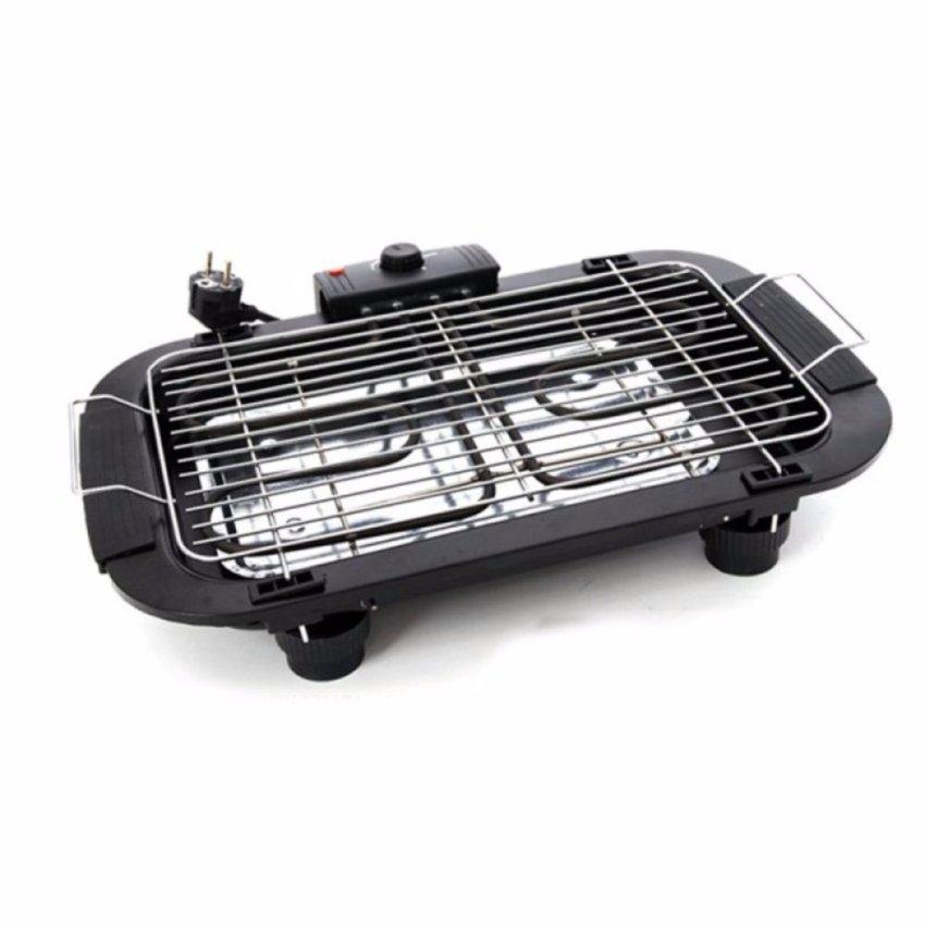 Bếp nướng điện không khói cao cấp - Mẫu mới 2017(Đen) + Hộp đựng tăm bằng nhựa cao cấp VegaVN...