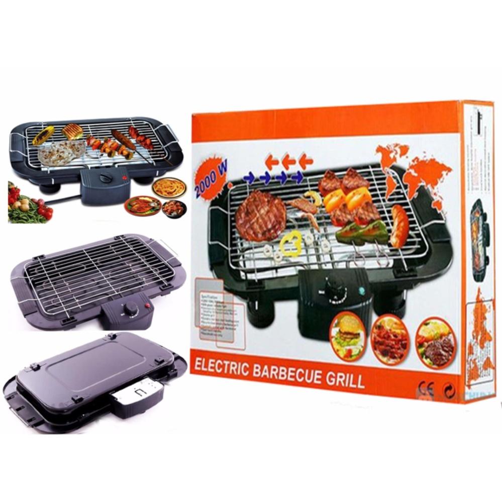 Bếp nướng điện không khói electric Barbecue Grill 5 mức điều chỉnh nhiệt (Đen)