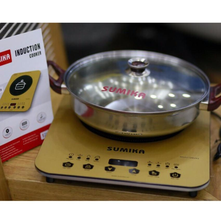 Bếp từ Sumika SM289 tặng kèm nồi
