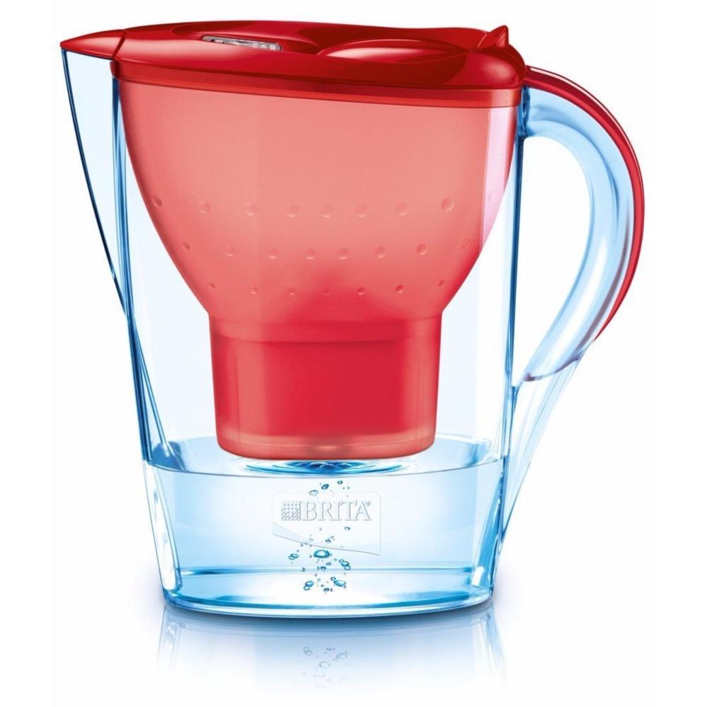 Bình lọc nước Brita Marella 2.4 Lít (Đỏ)