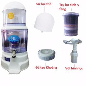 Bình lọc nước uống trực tiếp cao cấp LongKing 16L