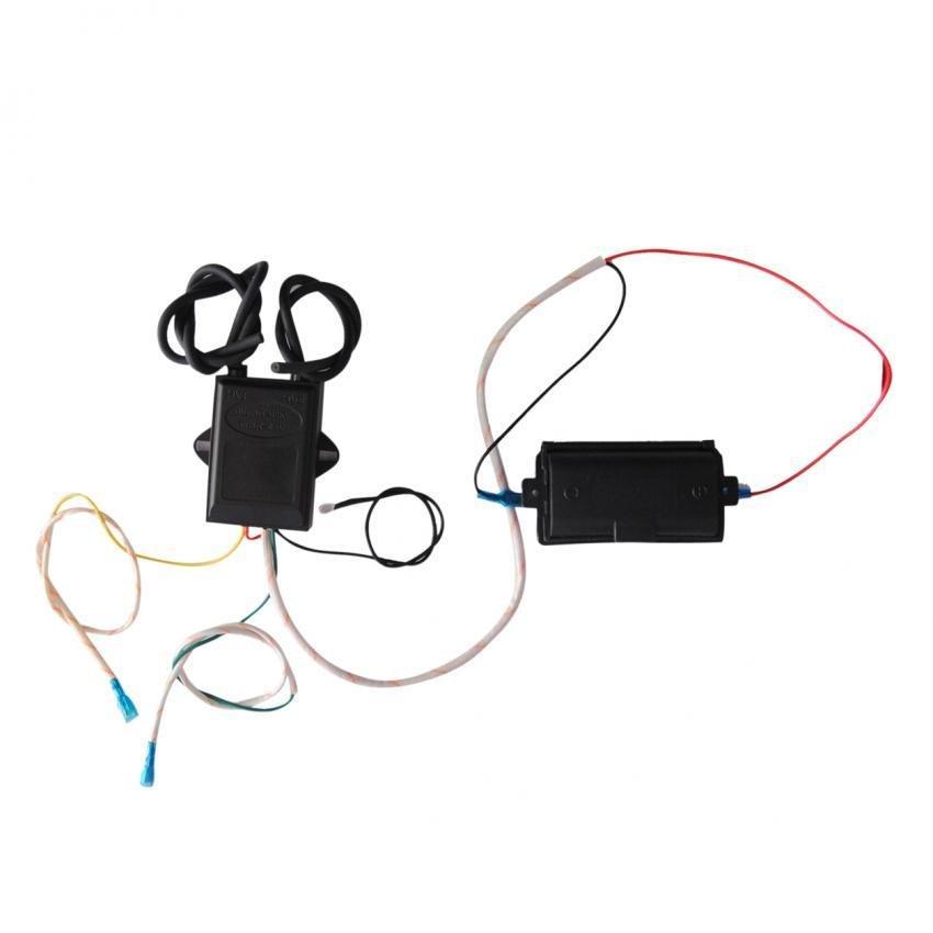 Bộ 1 IC 2 lò điện tử đánh tia lửa điện bếp gas âm đa năng và 1 hộppim City -IC2000PIM