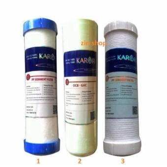 Bộ 3 lõi lọc thô 1,2,3 của máy lọc nước Karofi - 8215930 , KA433HAAA3R28JVNAMZ-6687982 , 224_KA433HAAA3R28JVNAMZ-6687982 , 280000 , Bo-3-loi-loc-tho-123-cua-may-loc-nuoc-Karofi-224_KA433HAAA3R28JVNAMZ-6687982 , lazada.vn , Bộ 3 lõi lọc thô 1,2,3 của máy lọc nước Karofi