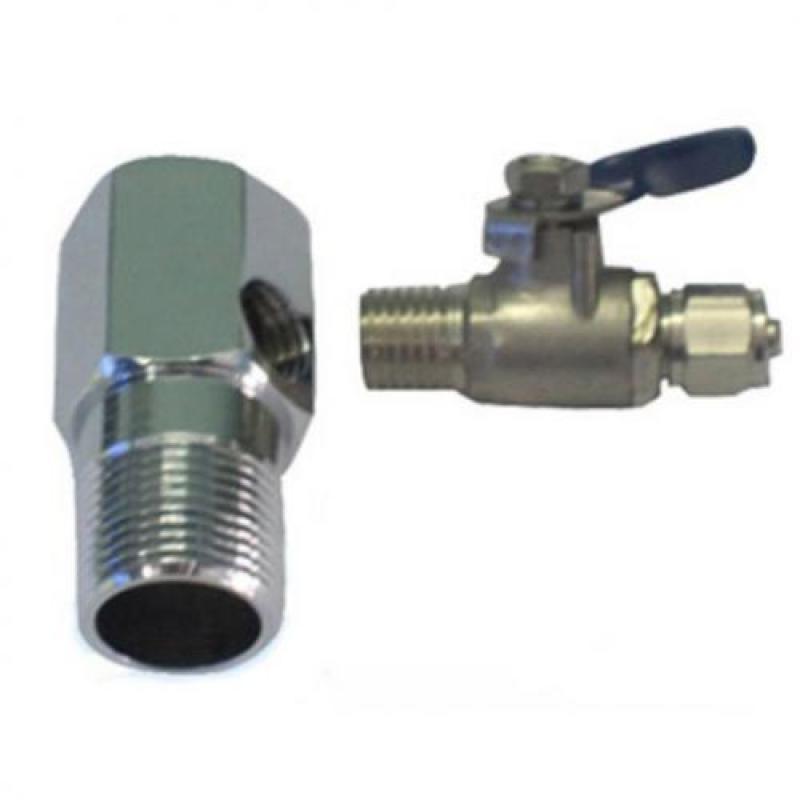 Bộ chia nước đầu vào máy lọc nước (Bạc)
