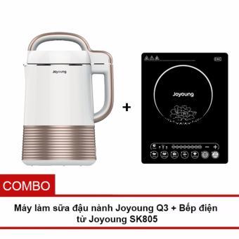 Bộ Máy làm sữa đậu nành Joyoung Q3+ Bếp điện từ Joyoung SK805 - 8211544 , JO154HAAA31CP0VNAMZ-5284932 , 224_JO154HAAA31CP0VNAMZ-5284932 , 4480000 , Bo-May-lam-sua-dau-nanh-Joyoung-Q3-Bep-dien-tu-Joyoung-SK805-224_JO154HAAA31CP0VNAMZ-5284932 , lazada.vn , Bộ Máy làm sữa đậu nành Joyoung Q3+ Bếp điện từ Joyoung