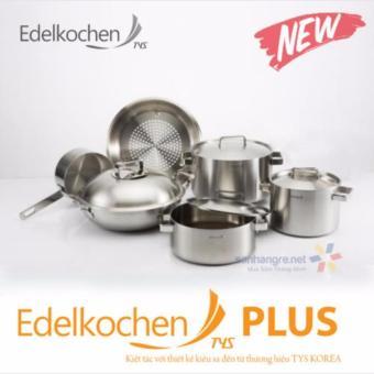 Bộ nồi Edelkochen Plus New bếp từ inox 304 3 lớp