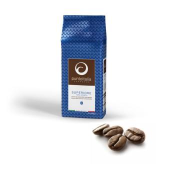 Cà phê hạt Punto Italia Espresso SUPERIORE 100% Arabica 1kg