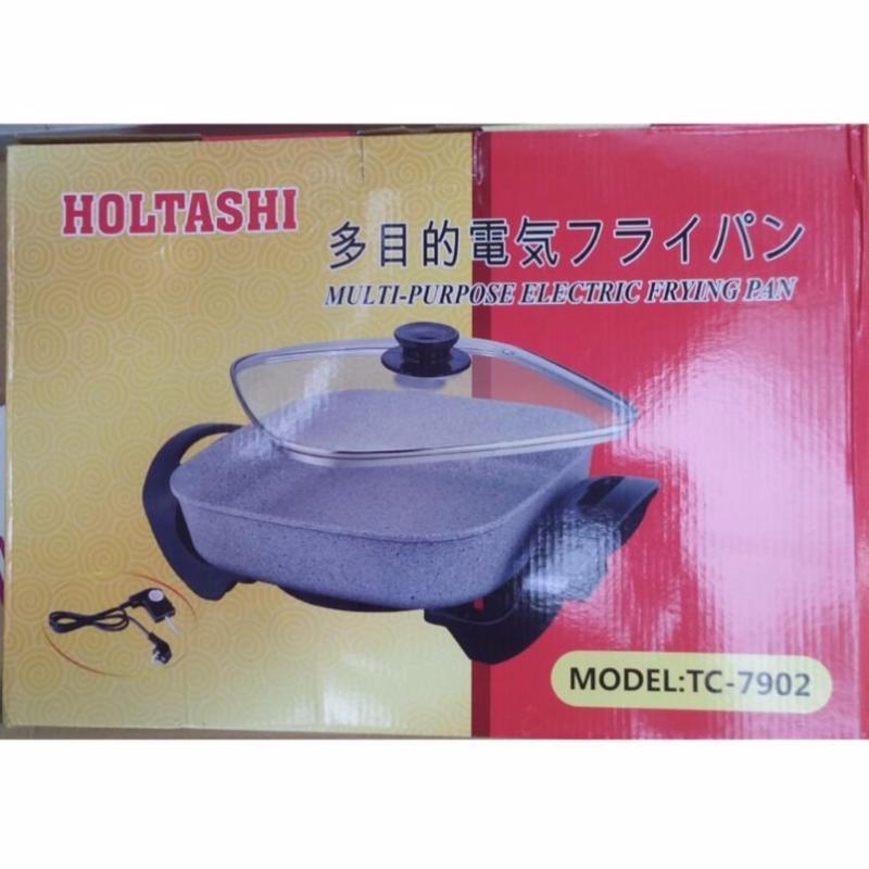 Chảo lẩu điện hoa cương đa năng Holtashi TC-7902