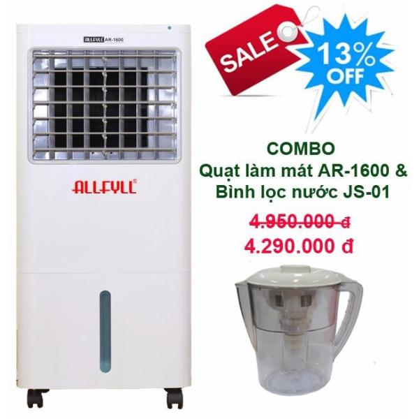 Bảng giá Combo air cooler Allfyll Thailand AR-1600 + Mini pitcher filter JS-01