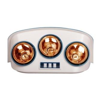 Đèn sưởi nhà tắm 3 bóng Zento ZT3-Gold (Xanh)