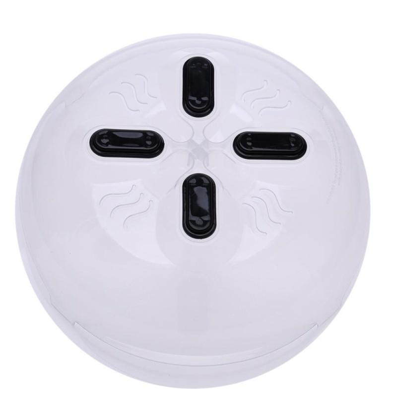 Food Splatter Guard Plastic Lids Microwave Anti-Sputtering Cover - intl