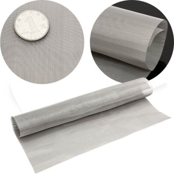 11.8'' Stainless Steel 100 Mesh Wire Cloth Screen Water Filtration Filter Sheet - intl