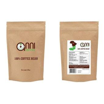 Bộ 2 gói Cà phê hạt Robusta (bơ) Annicoffee 500g x 2 gói