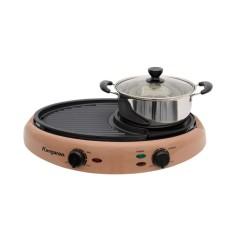 Lẩu nướng BBQ Kangaroo KG95N 2.5L (Vàng)