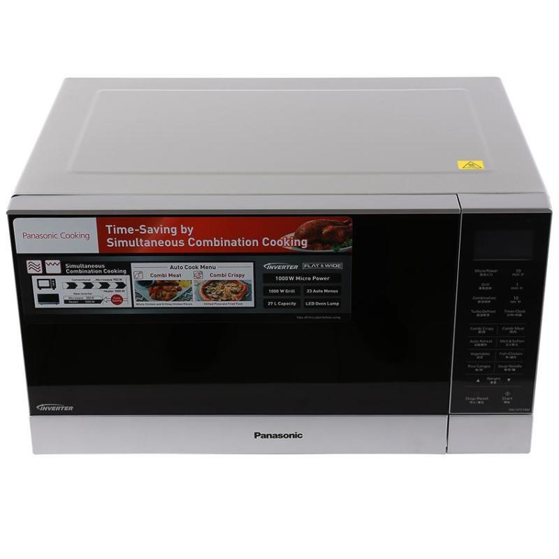 Lò Vi Sóng Panasonic NN-GF574MYUE 27 Lít, Inverter, Có Nướng