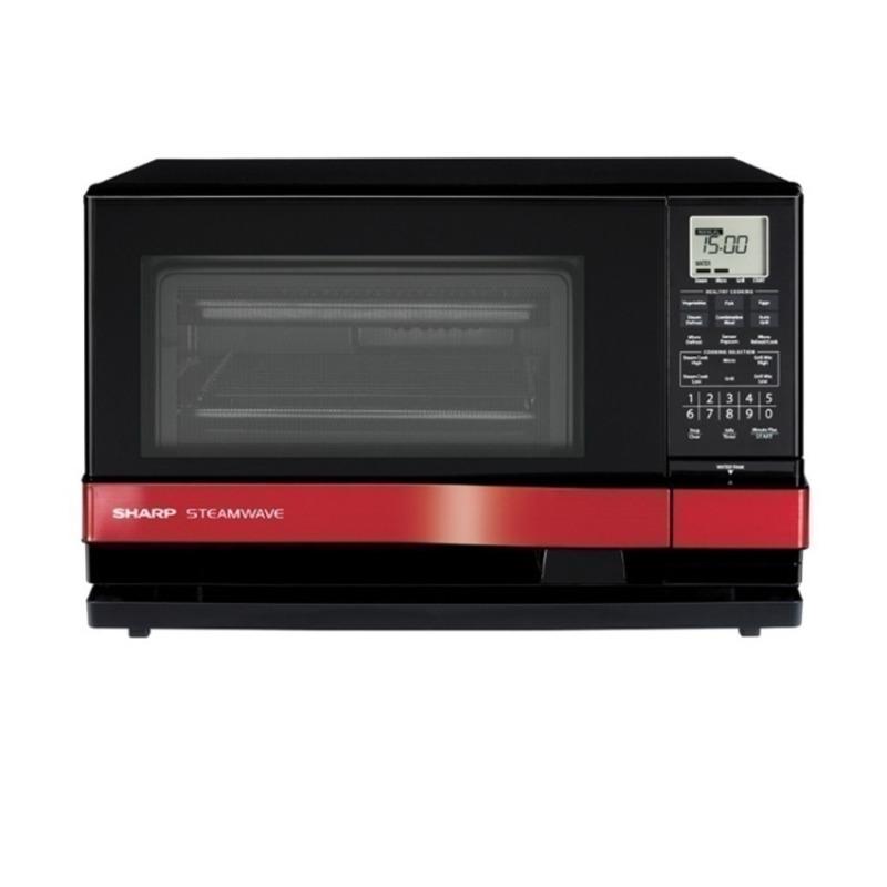 Lò vi sóng Sharp Steam Oven AX1100VN® (Đen phối đỏ)