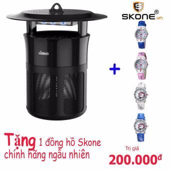 Máy bắt muỗi và diệt côn trùng UV Hàn Quốc (Tặng kèm đồng hồ trẻ em ngẫu nhiên chính hãng SKONE - Trị giá 200.000đ)