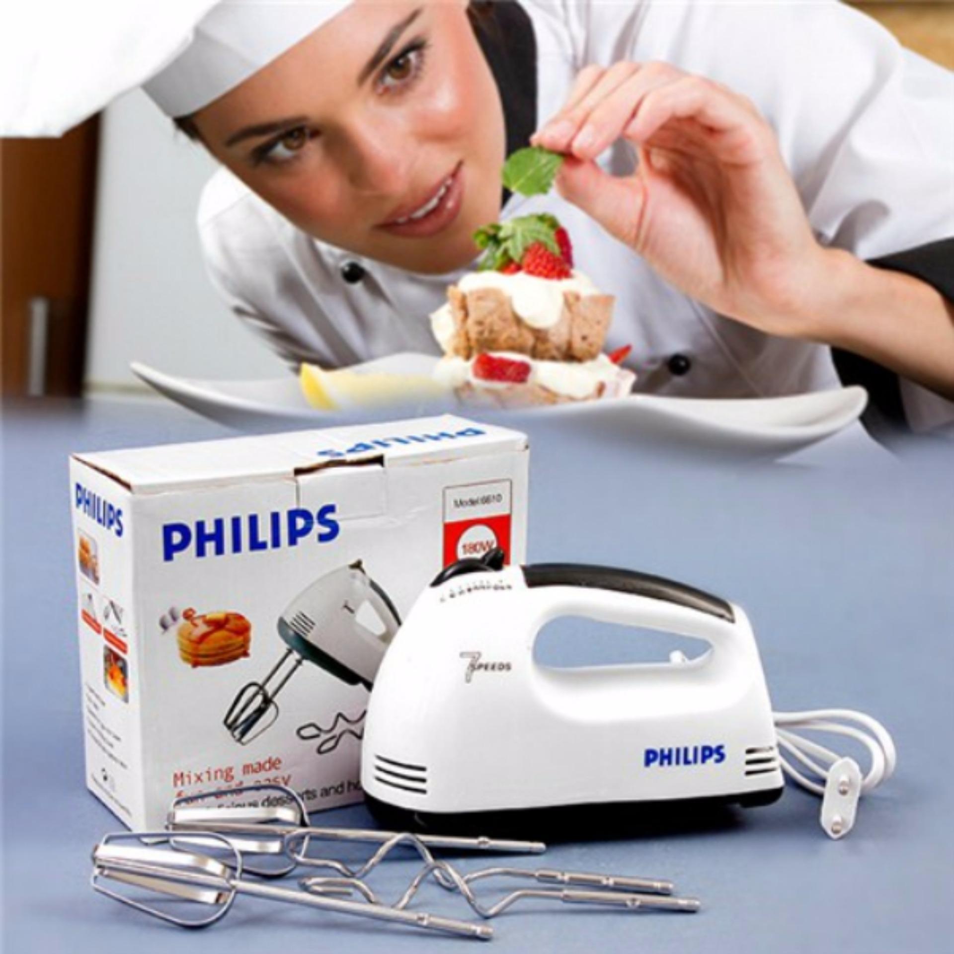 Máy đánh trứng cầm tay Philip 6610 (7 cấp độ)