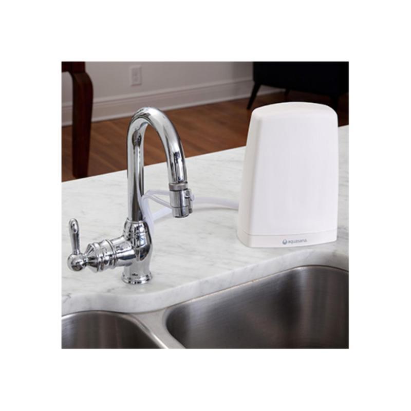 Máy đặt bàn lọc nước uống đầu vòi AQUASANA AQ-4000(White)