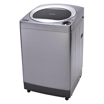 Máy Giặt Cửa Trên Sharp ES-U102HV-S 10.2Kg (Bạc)