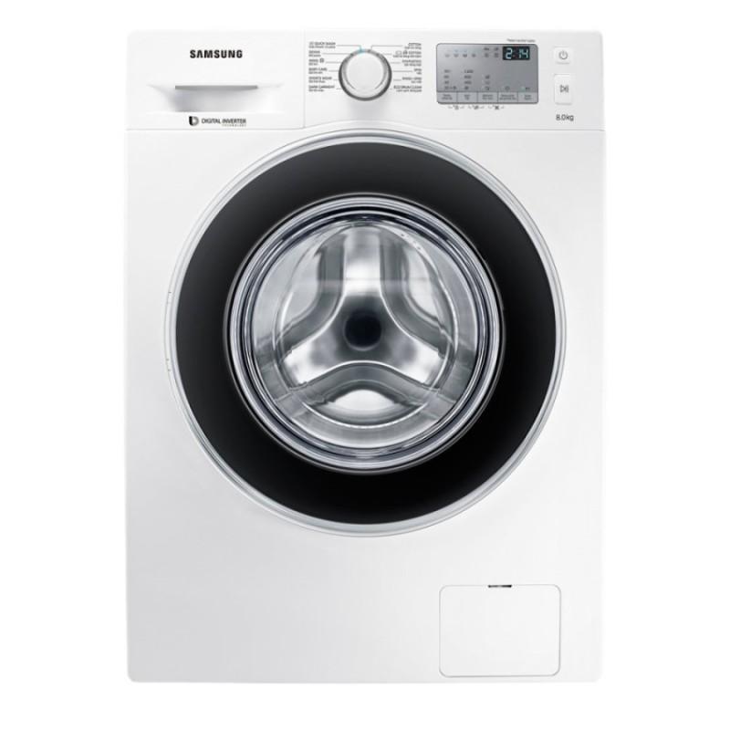 Máy giặt cửa trước Digital Inverter Samsung WW80J4233GW/SV 8kg