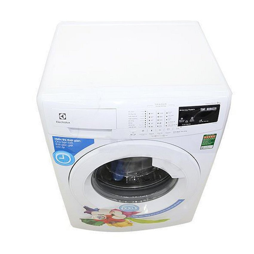 Máy giặt Cửa Trước Electrolux EWF12843 DL0700339 (8.0Kg) (Trắng).