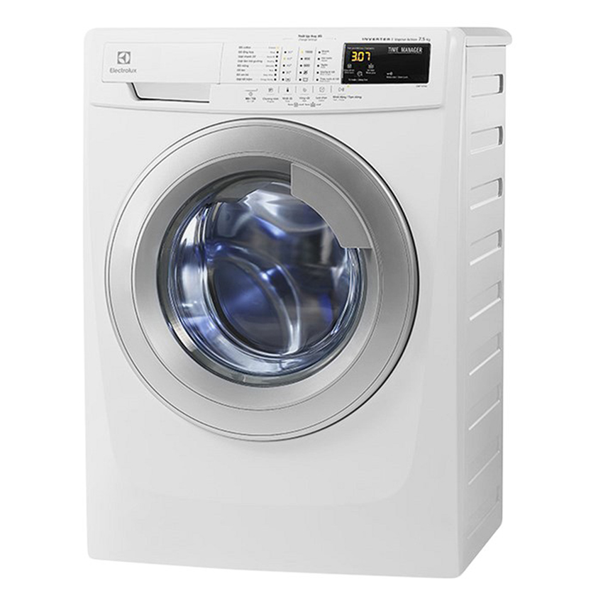 Máy Giặt Cửa Trước Inverter Electrolux EWF10744 7.5Kg (Trắng)