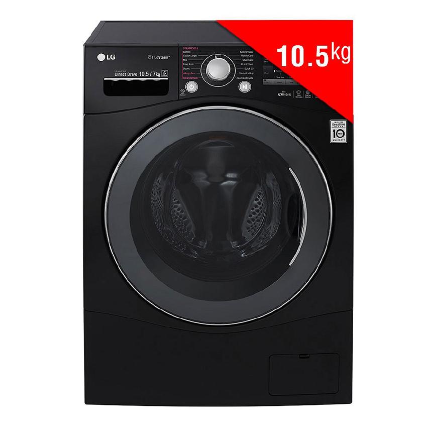 Máy Giặt Sấy Cửa Trước Inverter LG F1450HPRB (10.5Kg) (Đen)