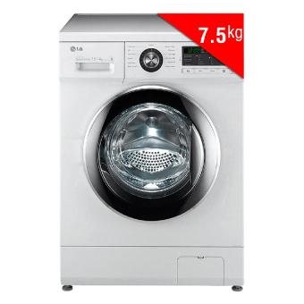 Máy Giặt Sấy Cửa Trước Inverter LG WD-18600 (7.5Kg) (Trắng)