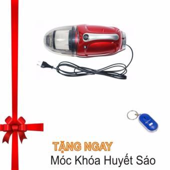 Máy hút bụi cầm tay (Đỏ) - Hàng nhập khẩu Tặng Móc Khóa Huyết Sáo