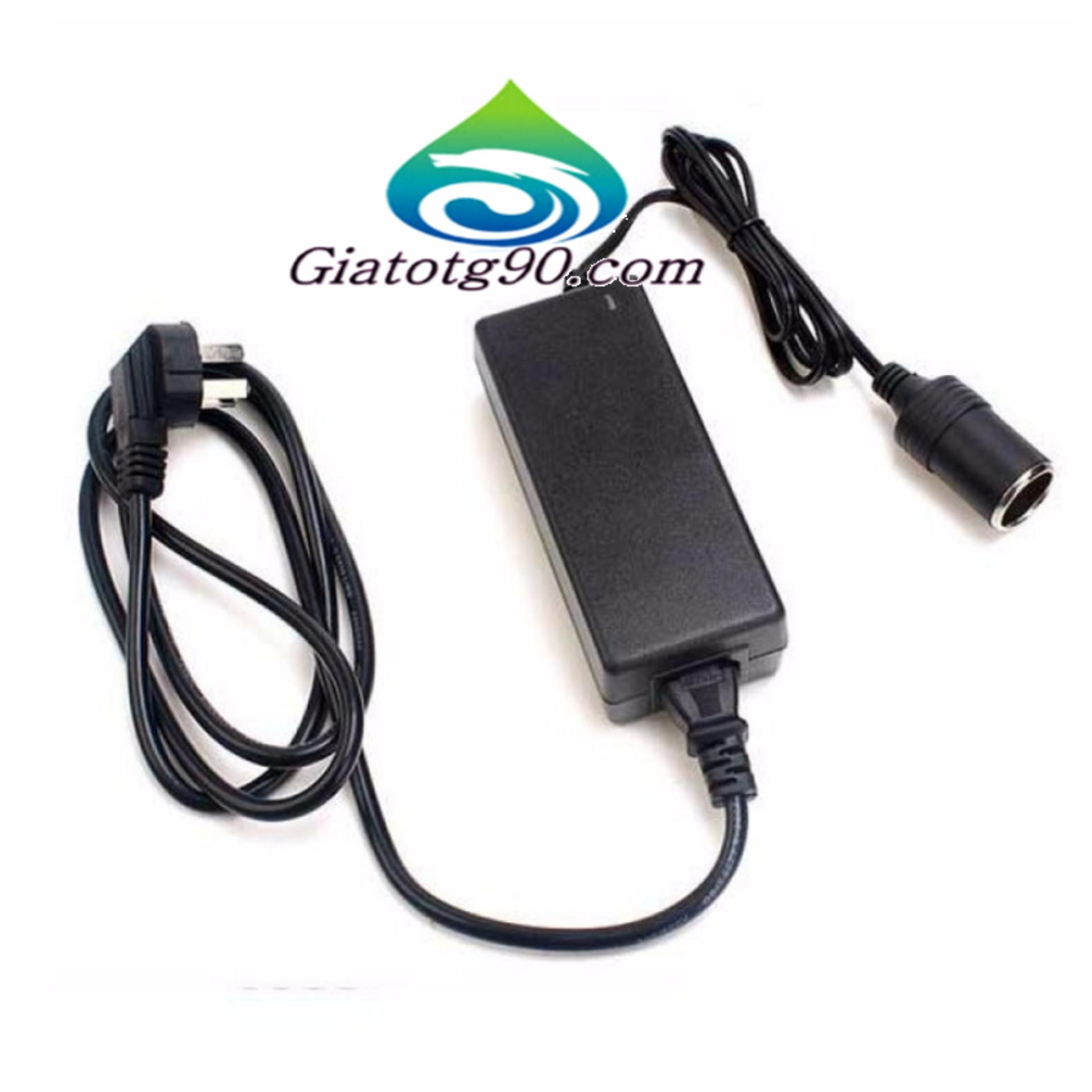 Máy Hút Bụi Cầm Tay Vacuum 206088+Bộ chuyển đổi nguồn điện 220V - 12V/60W/5A