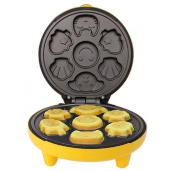 Máy làm bánh hình thú (vàng)