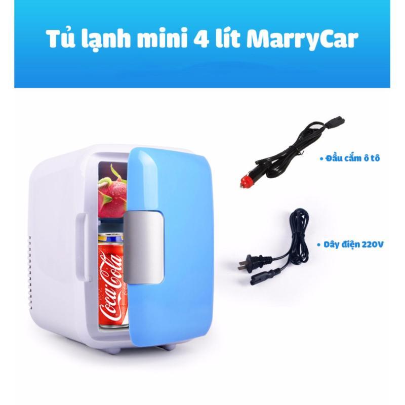 Máy làm nóng lạnh thực phẩm cho ô tô và gia đình MarryCar 4L