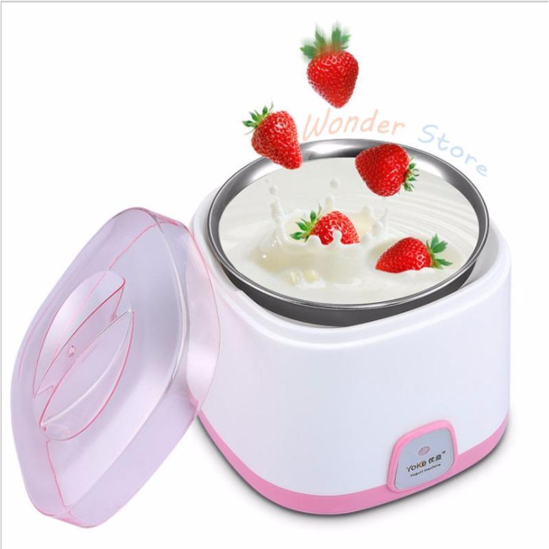Máy làm sữa chua Yoice 1L (Trắng) nồi ủ sữa chua tự động 15W