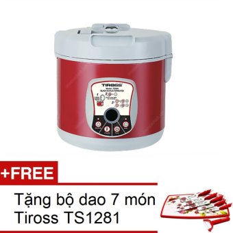 Máy làm tỏi đen Tiross TS906 (đỏ mận) + Tặng 1 bộ dao 7 món Tiross TS1281 - 8783105 , TI360HAAA2SWNXVNAMZ-4818846 , 224_TI360HAAA2SWNXVNAMZ-4818846 , 2050000 , May-lam-toi-den-Tiross-TS906-do-man-Tang-1-bo-dao-7-mon-Tiross-TS1281-224_TI360HAAA2SWNXVNAMZ-4818846 , lazada.vn , Máy làm tỏi đen Tiross TS906 (đỏ mận) + Tặng 1 bộ