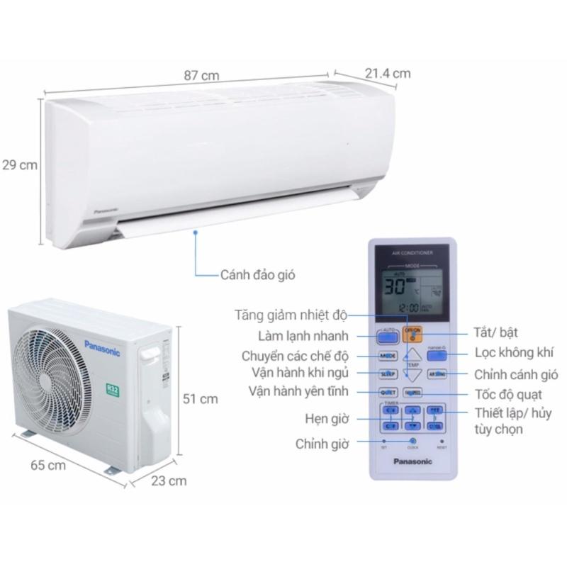 Bảng giá Máy lạnh Panasonic 1.0 HP CU/CS-N9SKH-8