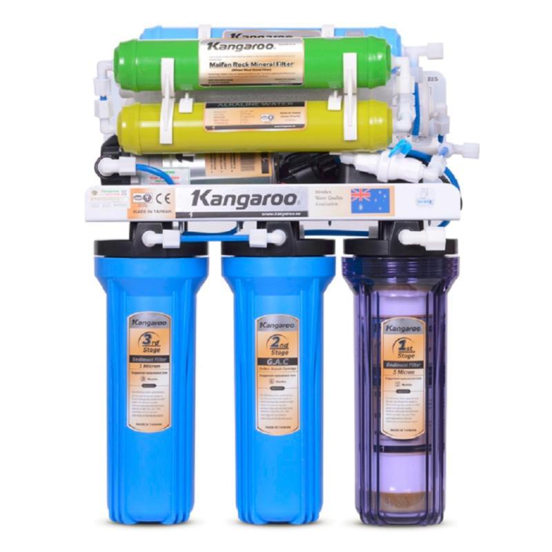 Máy lọc nước R.O Kangaroo KG108 + Bộ lõi lọc nước số 1,2,3
