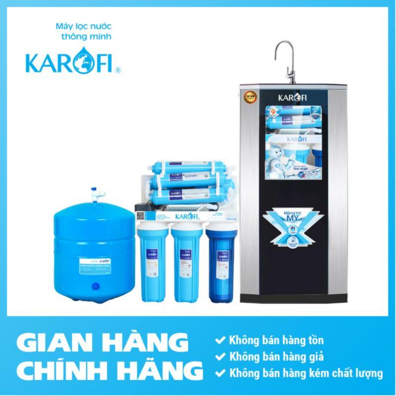Máy lọc nước RO Karofi, 9 cấp, đèn UV, tủ IQ