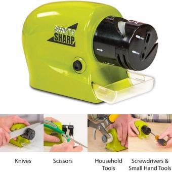 Máy mài dao & kéo đa năng dùng pin Swifty Sharp (Xanh)