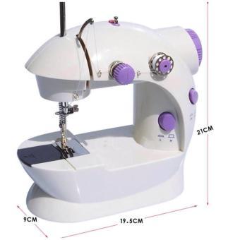 Máy May Để Bàn Mini Sewing Machine SM-202A