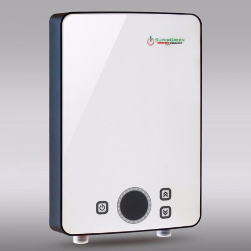 Bảng giá Máy nước nóng hồng ngoại SuperGreen: IR-288 (Trắng) - Hãng phân phối chính thức + Tặng sen tăng áp cao cấp