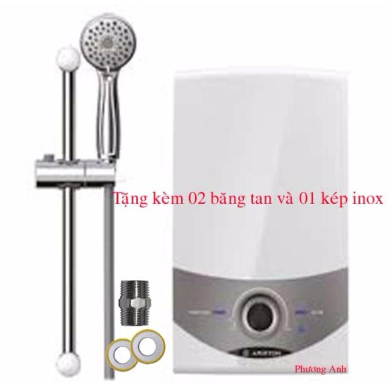 Bảng giá Máy nước nóng trực tiếp không bơm Ariston SM45E-VN + Tặng 02 cao su non và 01 kép inox