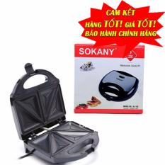 Máy nướng bánh bông lan sandwich hotdog SOKANY (đen)